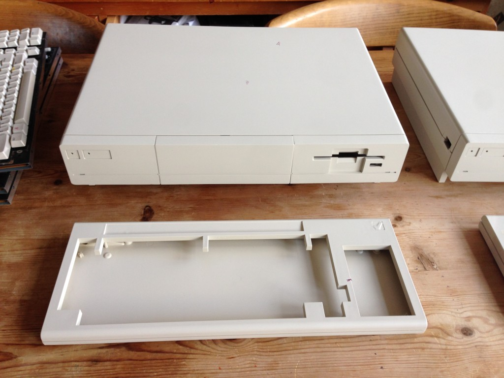A1000 respray one case and keyboard after