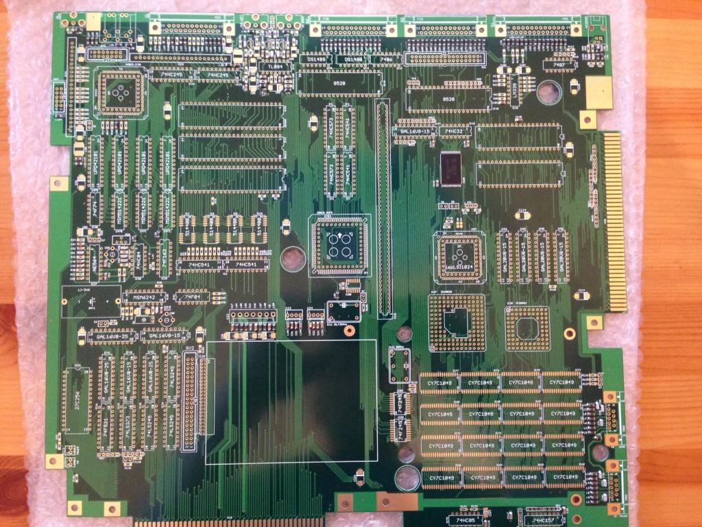 GBA100 Board birdfeed