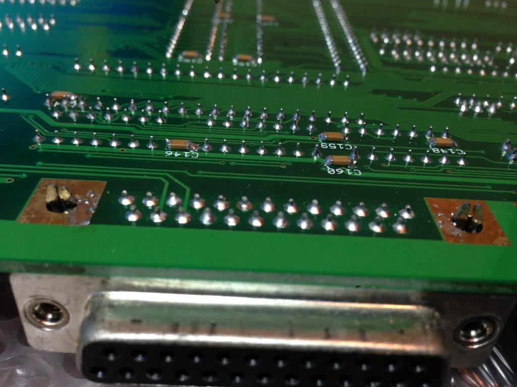 GBA1000 D plug pins